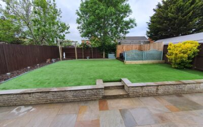 Landscaping & Artificial Grass Project In Gloucester